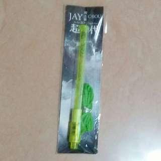 周杰倫 台版 超時代專屬LED小螢光棒 雪碧綠