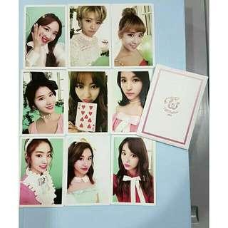 *freepost* 9 Twice Official Photocard! :D