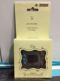BNIB! Rare 1997 Vintage Teku Teku Angel Hudson Pedometer Cum Tamagotchi Electronic Virtual Pet Game
