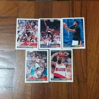 NBA Upper DECK 1992-1993  Trail Blazers 籃球卡