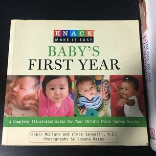 Baby first year book