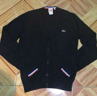 AUTHENTIC LACOSTE CARDIGAN