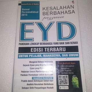 Buku EYD Kemendikbud