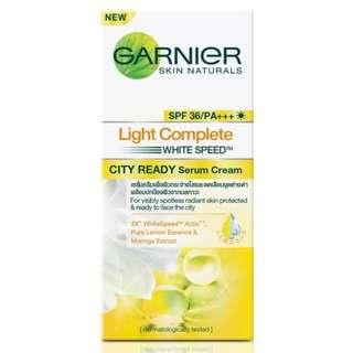 NEW: Garnier Light Complete City Ready Serum Cream (50ml)