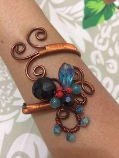 Handmade Adjustable Rare Jewel Bracelet