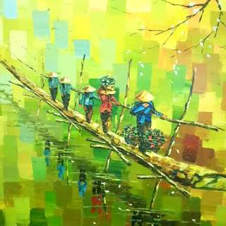 Vietnamese Oil Painting