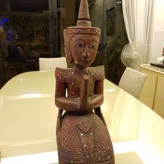 Wooden Thai Statue