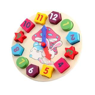 (Preorder) Wooden Clock learning