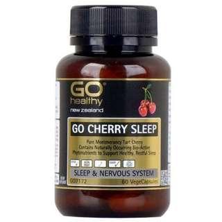 NEW: GO Healthy GO Cherry Sleep (30 Capsules)