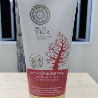 Natura Siberica Cream Body Scrub
