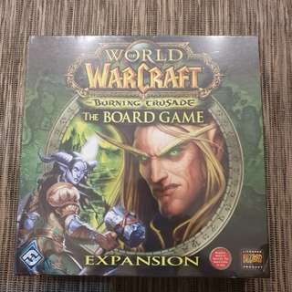World of Warcraft the Burning Crusade boardgame expansion