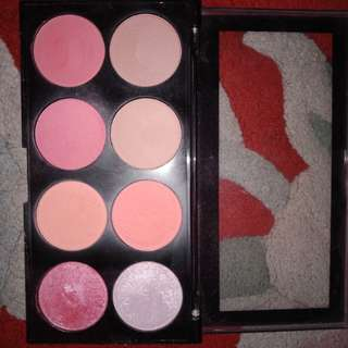 Makeup revolution spice & sugar blush palette