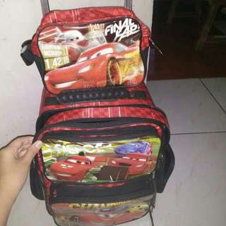 Disney CARS Stroller bag(5-7yrs Old)