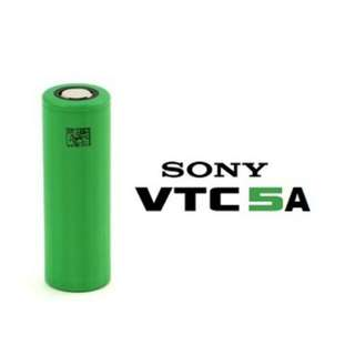 (High Discharge) Sony VTC5A 18650 Li-ion Rechargable Battery - 3,000 mAh (Unprotected)