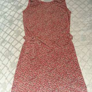 Elegant Dress with lace-Stretchable(Small-Large)