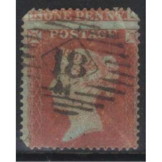GB 1854-1857 SG17 USED CAT £35 BL562