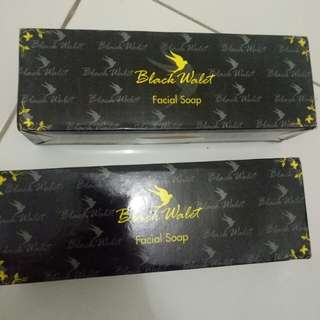 Sabun black wallet facial soap