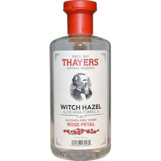 Thayers, Witch Hazel Aloe Vera Formula, Alcohol-Free Toner, Rose Petal, 355 ml (IN STOCKS!!!)