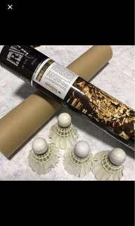 Used Badminton shuttlecocks