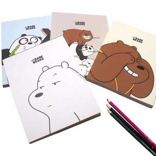 We Bare Bears Sketchbook