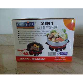 2-in-1 Multi-Function Cooker