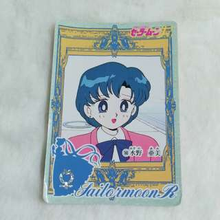 日版:美少女戰士 白咭 No.160 Bandai 1994