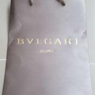 Bvlgari 袋一個 ,$25。