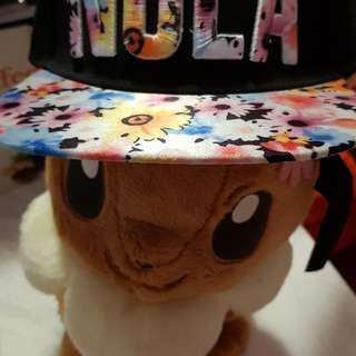 """ NOLA "" Flower Cap"