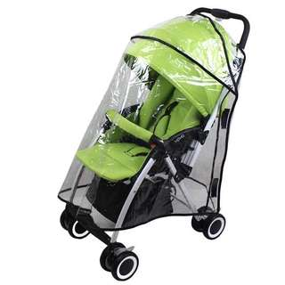 🌈(Ready Stock)💯🆕Brand New Rain Cover for Baby Stroller / Pram