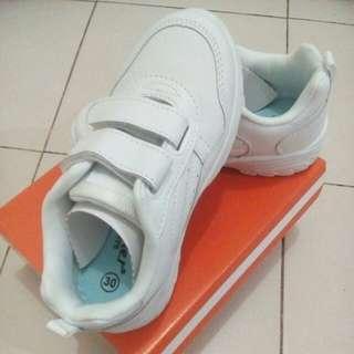 Checker White shoe(school shoe)