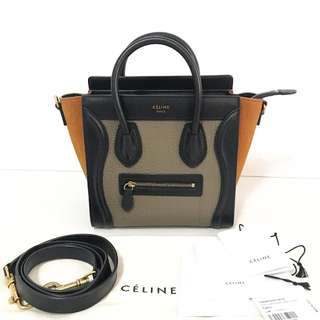 Authentic Celine Nano Luggage