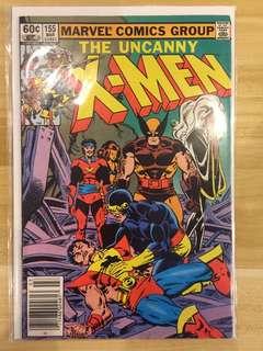 Marvel The Uncanny X-Men #155