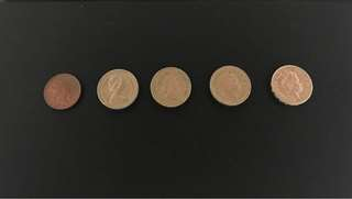 Elizabeth II coins (for sharing only)