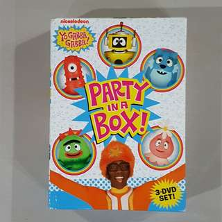 Yo Gabba Gabba!: Party in a Box (3-DVD Set!), DVD, Kids