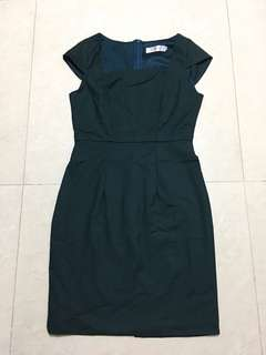 Brand New Forest Green Dress