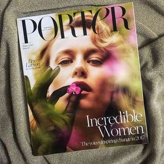 PORTER MAGAZINE ISSUE 23 BRIE LARSON