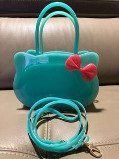 Little girls jelly handbags