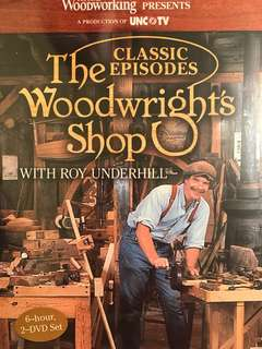 Woodwright's Shop with Roy Underhill Volume 1-31 DVD Collection