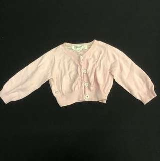 Chateau de sable pink cardigan 12m