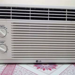 LG 0.5 HP air-conditioning