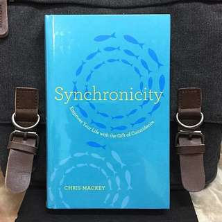 # Highly Recommended《Bran-New + Hardcover Edition + The Brain Science Underlying Synchronicity》Chris Mackey - SYNCHRONICITY : Empower Your Life with the Gift of Coincidence