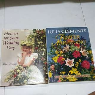 Flower arrangement books