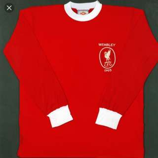 Liverpool Antique 90s Wembley long sleeve