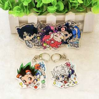 [INTEREST CHECK] Hunter X Hunter Keychains PO