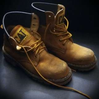 CAT boots Steel Toe