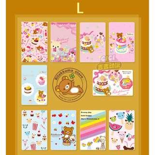 Rilakkuma Card Sticker
