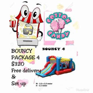 Bouncing Castle Package