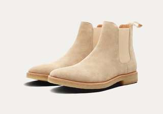 INSTOCK Sand Chelsea Boots