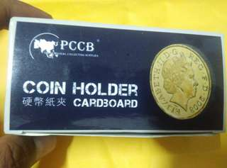 40mm PCCB coin holder