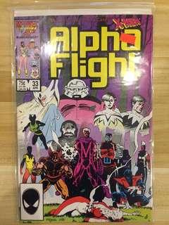 Marvel Alpha Flight #33
